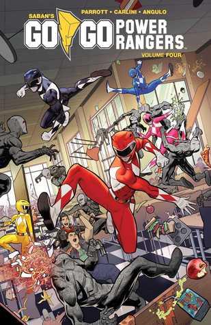 Saban's Go Go Power Rangers, Vol. 4 by Raúl Angulo, Ryan Parrott, Eleonora Carlini