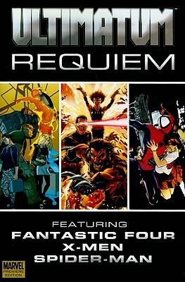 Ultimatum: Requiem by Joe Pokaski, Brian Michael Bendis, Aron E. Coleite, Albert Deschesne, Tyler Kirkham, Edgar Delgado, Stuart Immonen, Mark Bagley, Ben Oliver