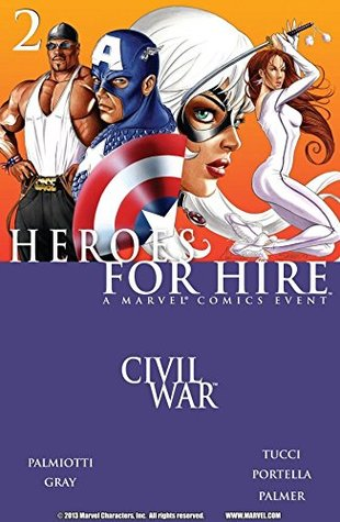 Heroes For Hire #2 by Jimmy Palmiotti, Billy Tucci, Francis Portela, Justin Gray