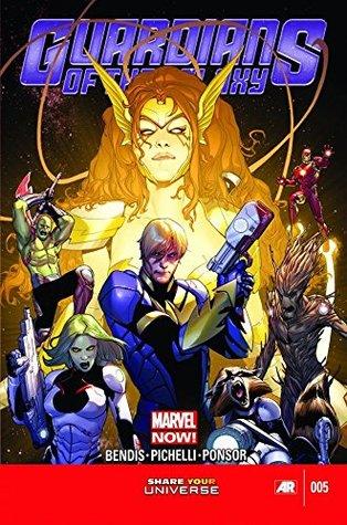 Guardians of the Galaxy (2013-2015) #5 by Brian Michael Bendis, Sara Pichelli, Neil Gaiman