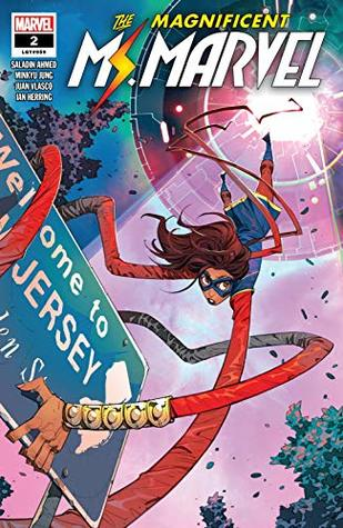 Magnificent Ms. Marvel (2019-) #2 by Minkyu Jung, Saladin Ahmed, Eduard Petrovich
