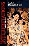 Amy Tan's The Joy Luck Club by Henry W. Berg, Amy Tan, Harold Bloom