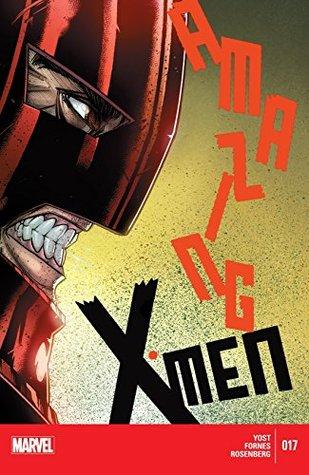 Amazing X-Men #17 by Christopher Yost, Jorge Fornes