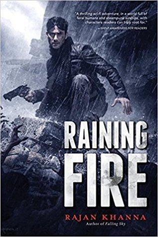 Raining Fire by Rajan Khanna