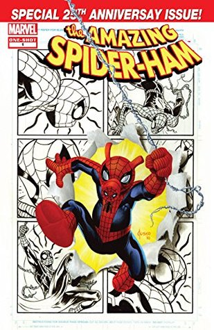 Spider-Ham 25th Anniversary Special (2010) #1 by Jacob Chabot, Tom DeFalco, Adam DeKraker, Tom Peyer, Joe Jusko, Agnes Garbowska
