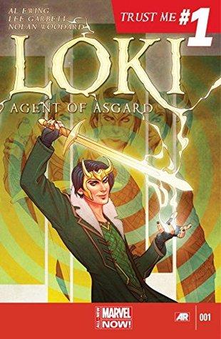 Loki: Agent of Asgard #1 by Jenny Frison, Nolan Woodard, Al Ewing, Lee Garbett