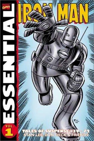 Essential Iron Man, Vol. 1 by Art Simek, Sam Rosen, Larry Lieber, Don Heck, Stan Lee