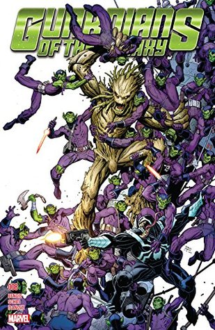Guardians of the Galaxy (2015-2017) #8 by Brian Michael Bendis, Valerio Schiti, Arthur Adams