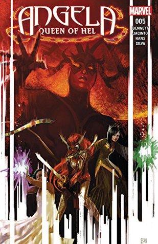 Angela: Queen of Hel #5 by Kim Jacinto, Marguerite Bennett, Israel Silva, Stephanie Hans