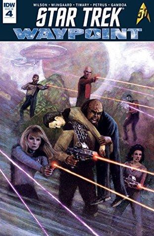 Star Trek: Waypoint #4 by Caspar Wijngaard, Scott Wilson, Hugo Petrus, Vivek J. Tiwary