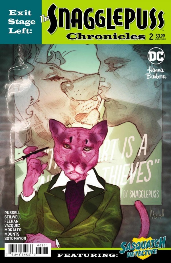 Exit Stage Left: The Snagglepuss Chronicles #2 by Brandee Stilwell, Mark Russell