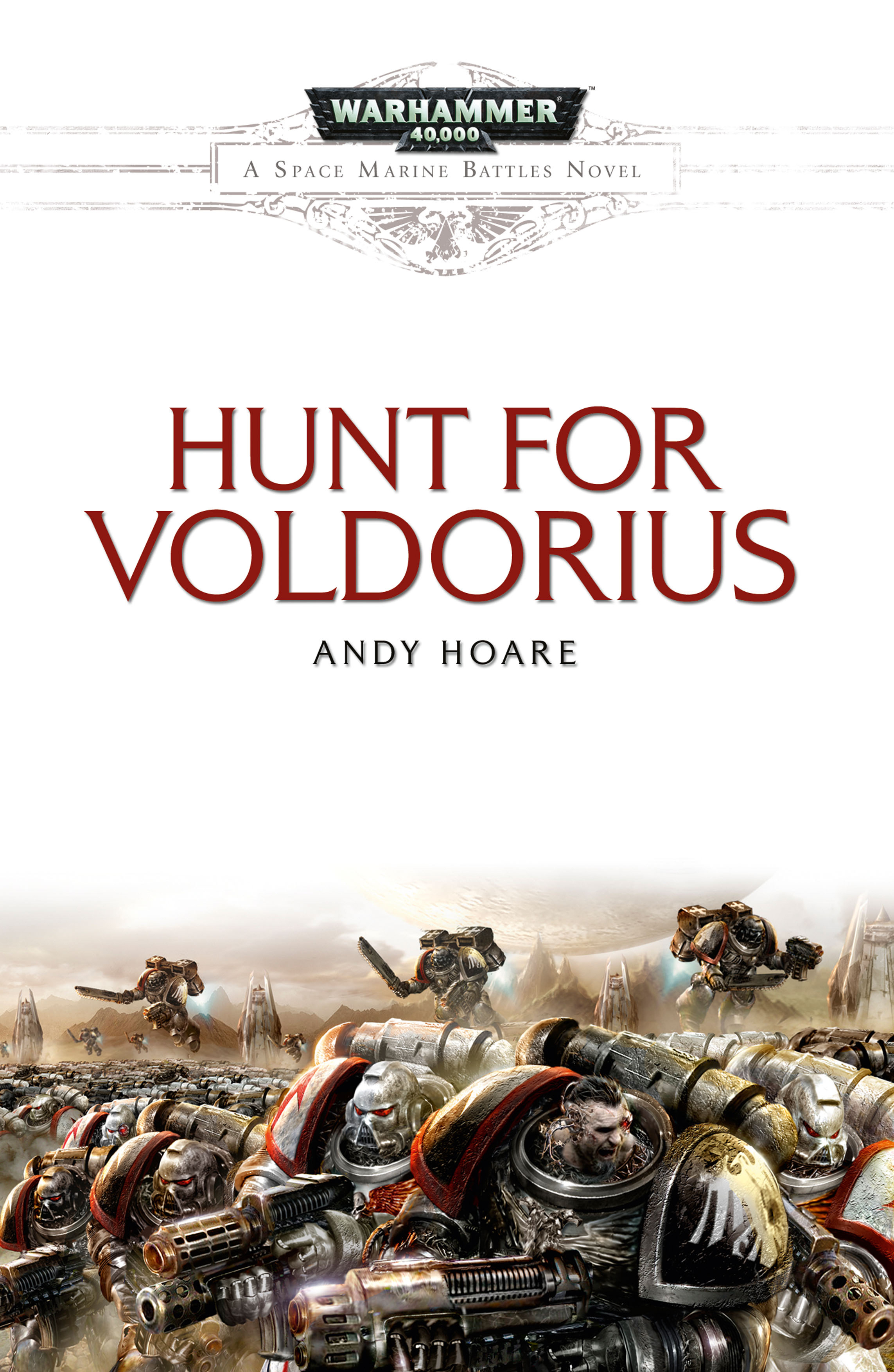 Hunt For Voldorius by Andy Hoare