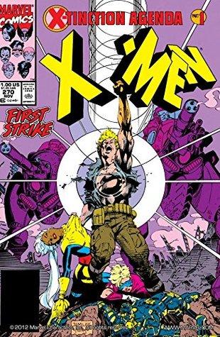 Uncanny X-Men (1963-2011) #270 by Jim Lee, Glynis Oliver, Scott Williams, Art Thibert, Task Force X, Chris Claremont