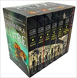 The Mortal Instruments: A Shadowhunters Collection 7 Book Set by Cassandra Clare