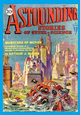 Astounding Stories of Super-Science, Vol. 2, No. 1 (April, 1930) (Volume 2) by Arthur J. Burks