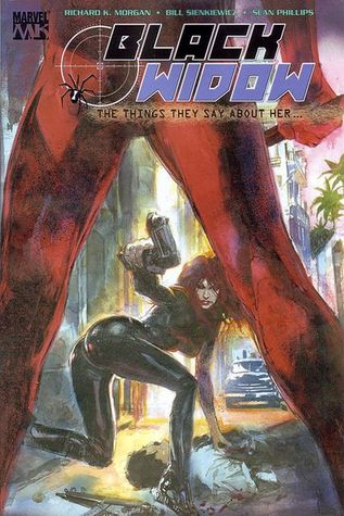 Black Widow: The Things They Say About Her by Bill Sienkiewicz, Sean Phillips, Richard K. Morgan