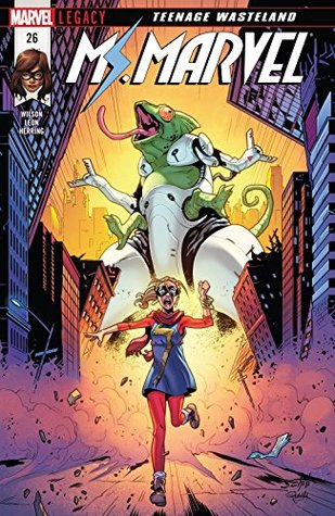 Ms. Marvel (2015-2019) #26 by Nico Leon, G. Willow Wilson, Valerio Schiti