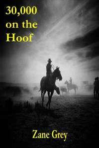 30,000 on the Hoof by Zane Grey