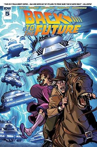 Back to the Future #5 by John Barber, Marcelo Ferreira, Bob Gale, Erik Burnham