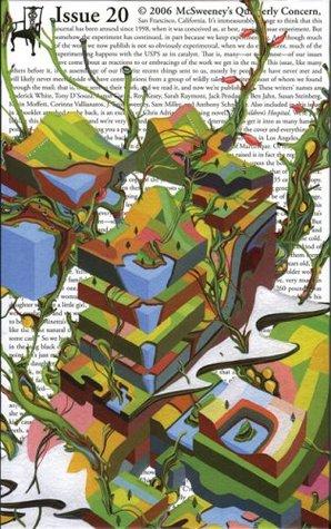 McSweeney's #20 by McSweeney's Publishing, Dave Eggers, Ben Jahn, Tony D'Souza, Susan Steinberg, Alan C. Baird, Kevin Moffett