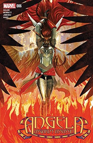 Angela: Asgard's Assassin #6 by Marguerite Bennett, Stephanie Hans, Kieron Gillen, Phil Jimenez