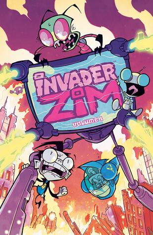 Invader Zim Vol. 1 by Aaron Alexovich, Jhonen Vásquez, Eric Trueheart, Megan Lawton, Simon Troussellier, Rikki Simons