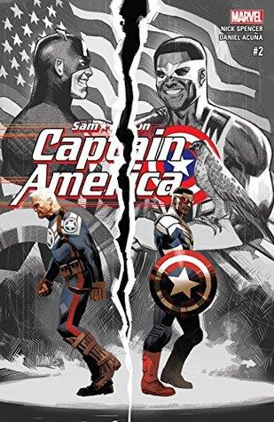 Captain America: Sam Wilson #2 by Nick Spencer, Daniel Acuña