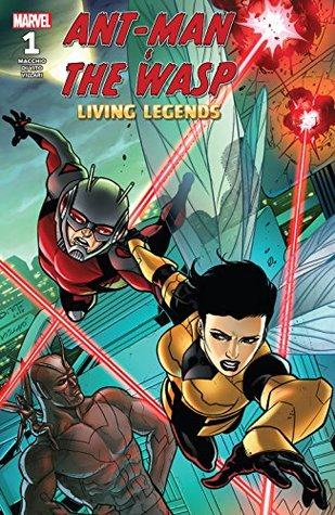 Ant-Man & The Wasp : Living Legends #1 by Javier Garrón, Andrea Di Vito, Mark Waid, David Nakayama, Ralph Macchio