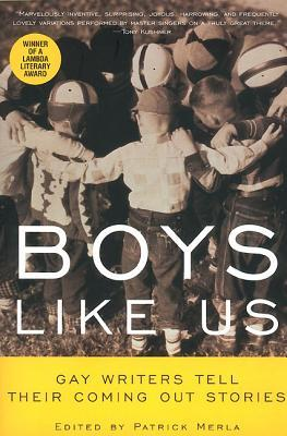 Boys Like Us: Gay Writers Tell Their Coming Out Stories by Samuel R. Delany, Patrick Merla, Hetrick Martin Inst