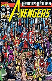 Avengers (1998-2004) #2 by George Pérez, Kurt Busiek, Al Vey