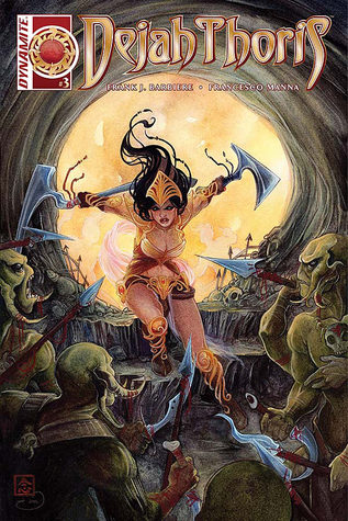 Dejah Thoris #3 by Francesco Manna, Frank J. Barbiere