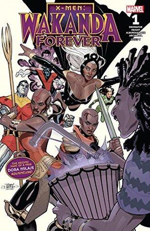 X-Men: Wakanda Forever (2018) #1 by Ray-Anthony Height, Terry Dodson, Nnedi Okorafor