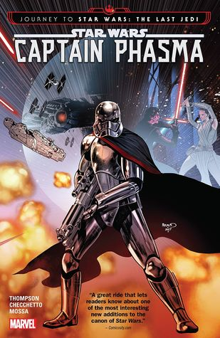 Journey to Star Wars: The Last Jedi - Captain Phasma by Kelly Thompson, Marco Checchetto, Andres Mossa, VC's Clayton Cowles