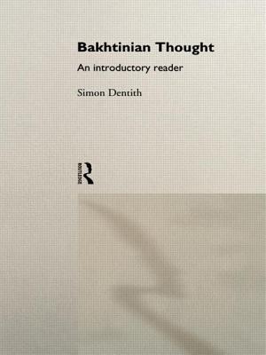 Bakhtinian Thought: Intro Read by Simon Dentith