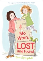 Mo Wren, Lost and Found by Heather Ross, Tricia Springstubb