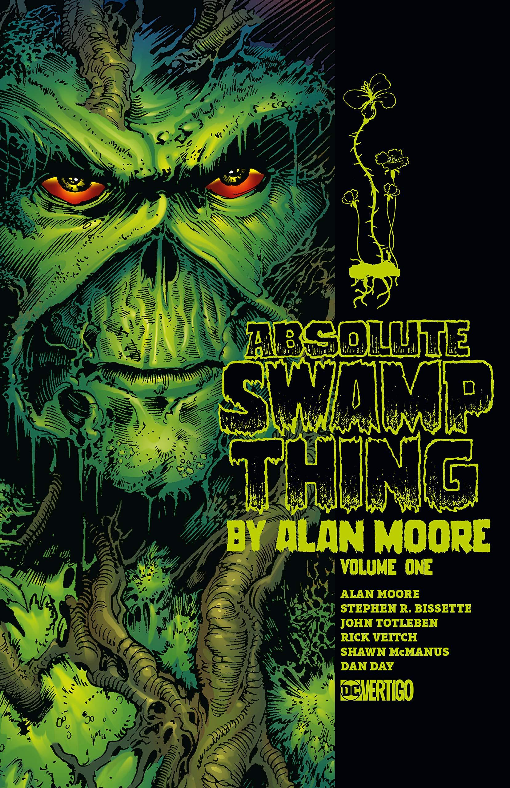 Absolute Swamp Thing by Alan Moore, Vol. 1 by Alfredo Alcalá, John Costanza, Alan Moore, Stephen R. Bissette, Rick Veitch, John Totleben, Tatjana Woods, Shawn McManus, Dan Day, Ron Randall