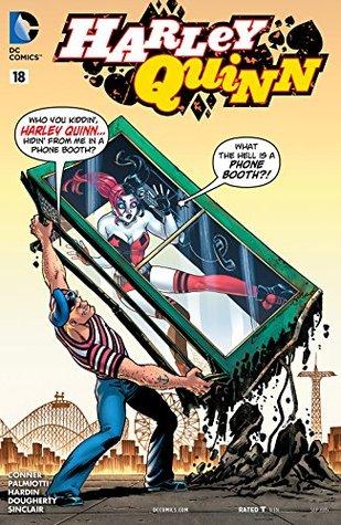 Harley Quinn (2013- ) #18 by Chad Hardin, Jimmy Palmiotti, Amanda Conner, Jed Dougherty