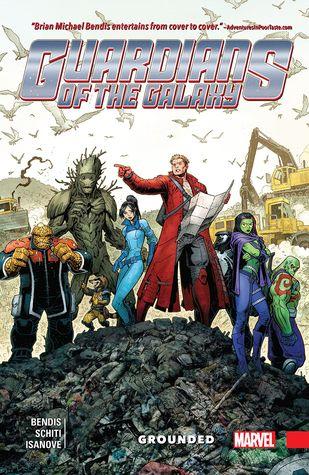 Guardians of the Galaxy: New Guard, Volume 4: Grounded by Brian Michael Bendis, Cory Petit, Jason Keith, Valerio Schiti, Arthur Adams, Richard Isanove