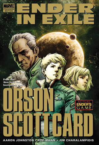 Ender In Exile by Aaron Johnston, Orson Scott Card, Pop Mhan