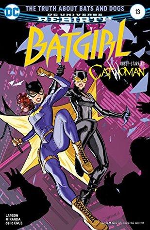 Batgirl #13 by Hope Larson, Dan Mora, Eva de la Cruz, Inaki Miranda