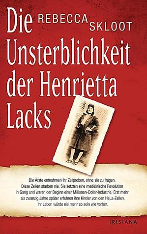 Die Unsterblichkeit der Henrietta Lacks by Rebecca Skloot, Sebastian Vogel