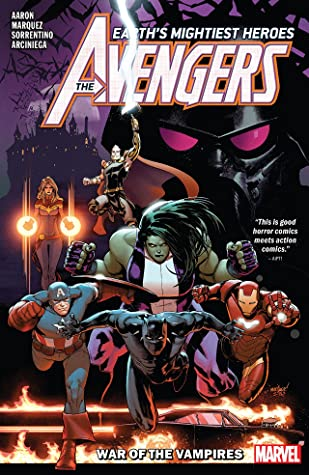 Avengers by Jason Aaron, Vol. 3: War of the Vampires by David Marquez, Jason Aaron, Andrea Sorrentino