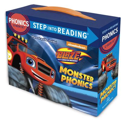 Monster Phonics (Blaze and the Monster Machines): 12 Step Into Reading Books by Jennifer Liberts
