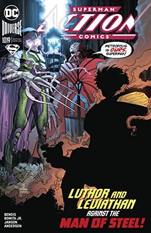 Action Comics #1019 by Brian Michael Bendis, John Romita
