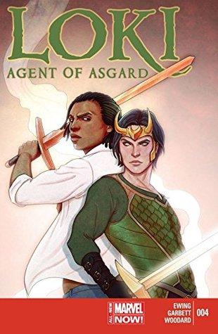 Loki: Agent of Asgard #4 by Jenny Frison, Al Ewing, Lee Garbett