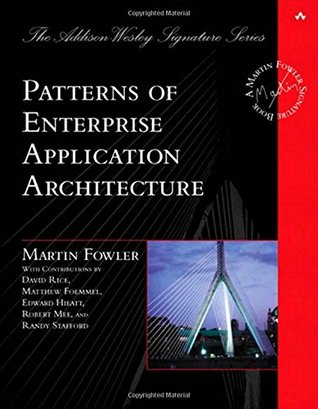 Patterns of Enterprise Application Architecture by Randy Stafford, Matthew Foemmel, Robert Mee, David Rice, Edward Hieatt, Martin Fowler