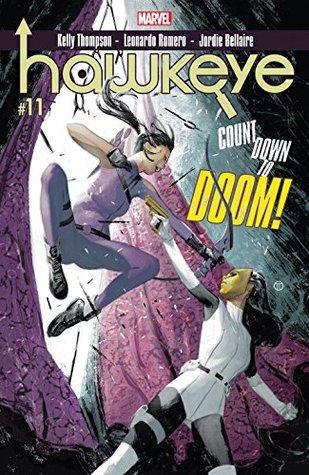 Hawkeye #11 by Kelly Thompson, Leonardo Romero, Julian Tedesco