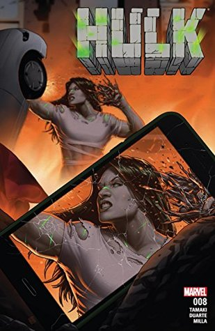 Hulk #8 by John Tyler Christopher, Georges Duarte, Mariko Tamaki