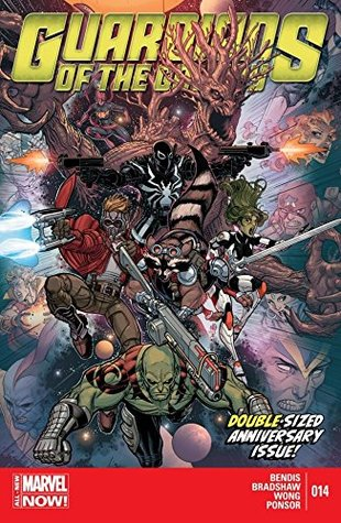 Guardians of the Galaxy (2013-2015) #14 by Nick Bradshaw, Brian Michael Bendis