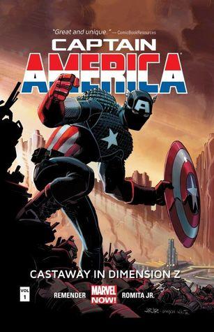 Captain America, Volume 1: Castaway In Dimension Z, Book One by Klaus Janson, Dan Brown, Dean White, Rick Remender, Scott Hanna, Lee Loughridge, Joe Caramagna, Tom Palmer, John Romita Jr.